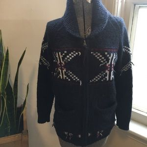 Aritzia TNA sea to sky zipper cardigan